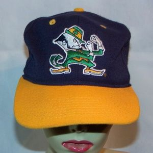 Notre Dame Fighting Irish Hat Embroidered Size L